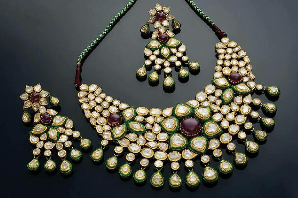 Kundan Choker by MOR JEWELLERS
