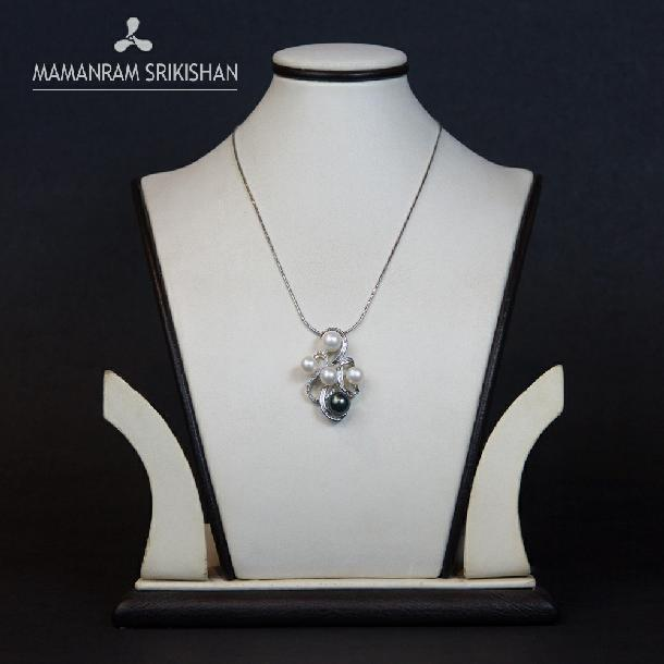 Pearl Chain by Mamanram Srikishan Jewellers and Pearls