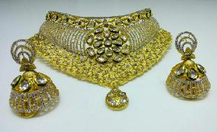 Kundan Choker by TULSI JEWEL