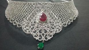 Ruby Choker by TULSI JEWEL